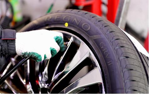 タイヤの安全チェック・修理のイメージ画像